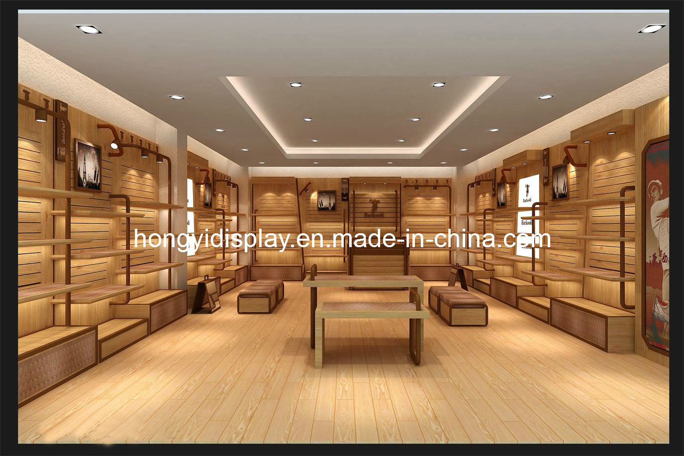 China men shoes shop decoration for store fixture china store display retail display for Interior design for shoes shop