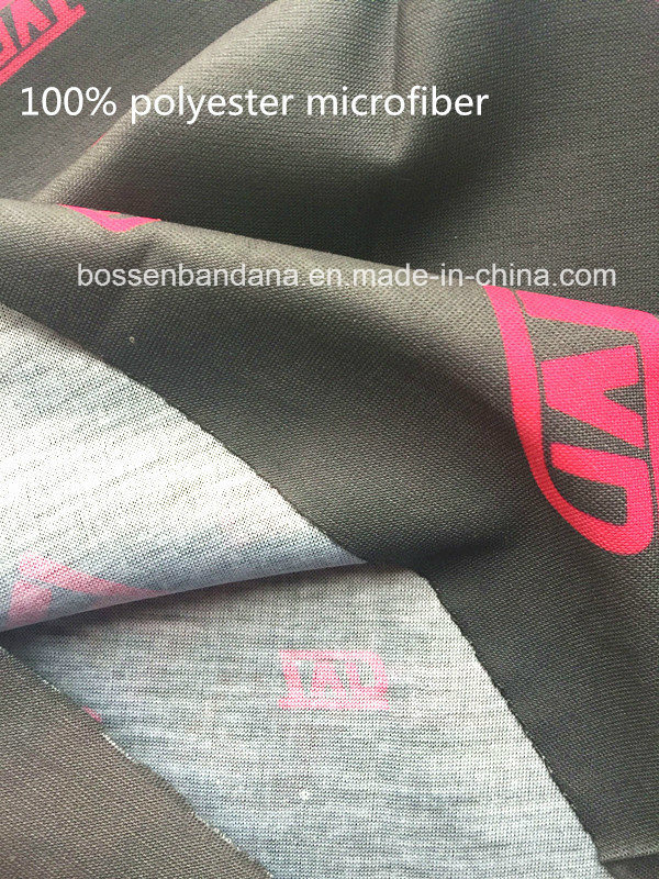 Factory OEM Produce Polyester Microfiber Custom Black Multifunctional Headwear Scarf pictures & photos