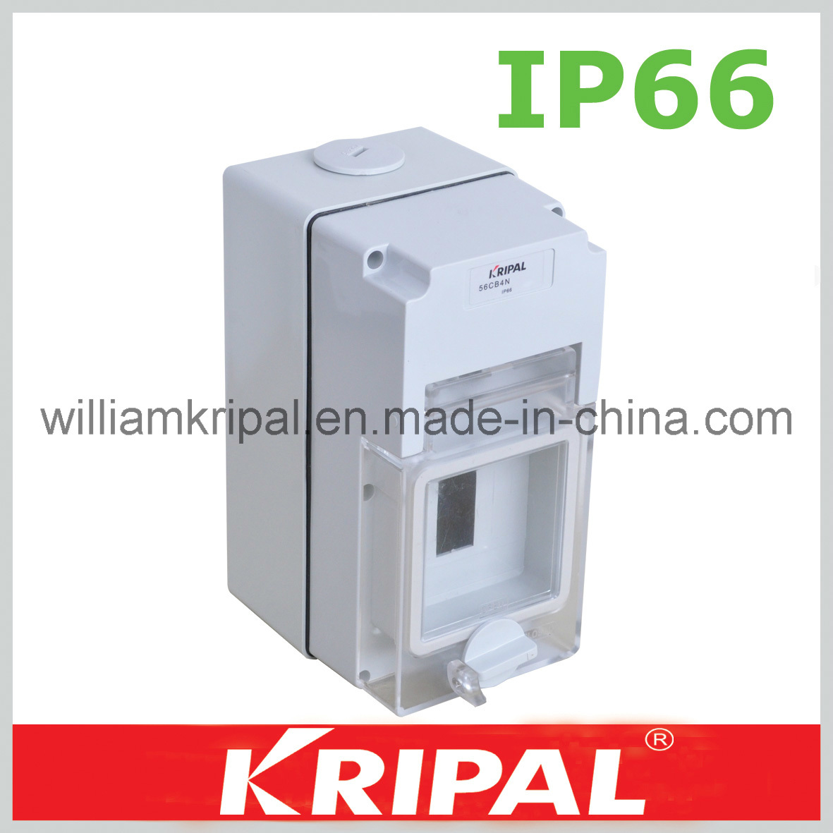 China Pc Enclosed Ip66 Weatherproof Mcb Box Circuit Breaker Enclosure