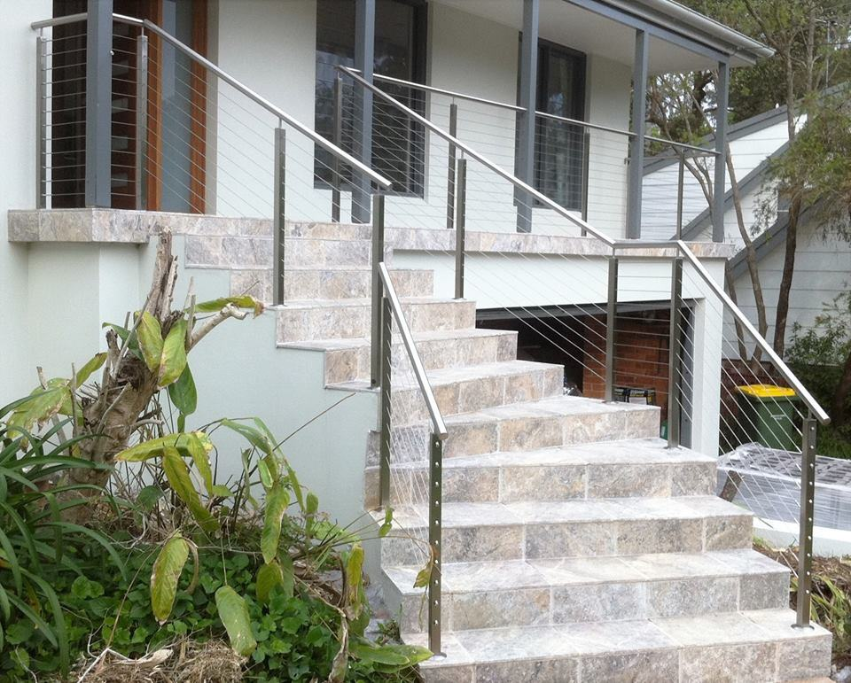 China Modern Design Stainless Steel Cable Railing/Wire Balustrade ...