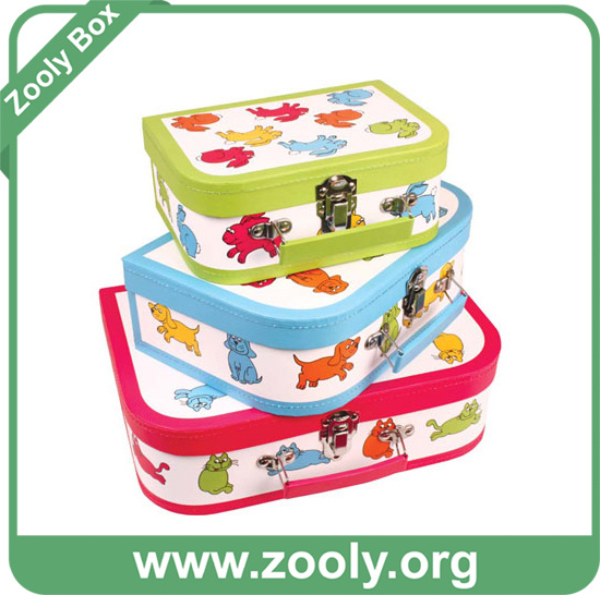 Nesting Gift Box / Cardboard Nested Paper Box / Round Nestable Storage Box pictures & photos