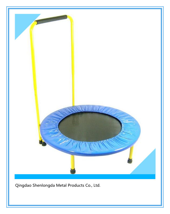 Foldable 40-Inch Diameter Fitness Trampoline with Stability Bar pictures & photos