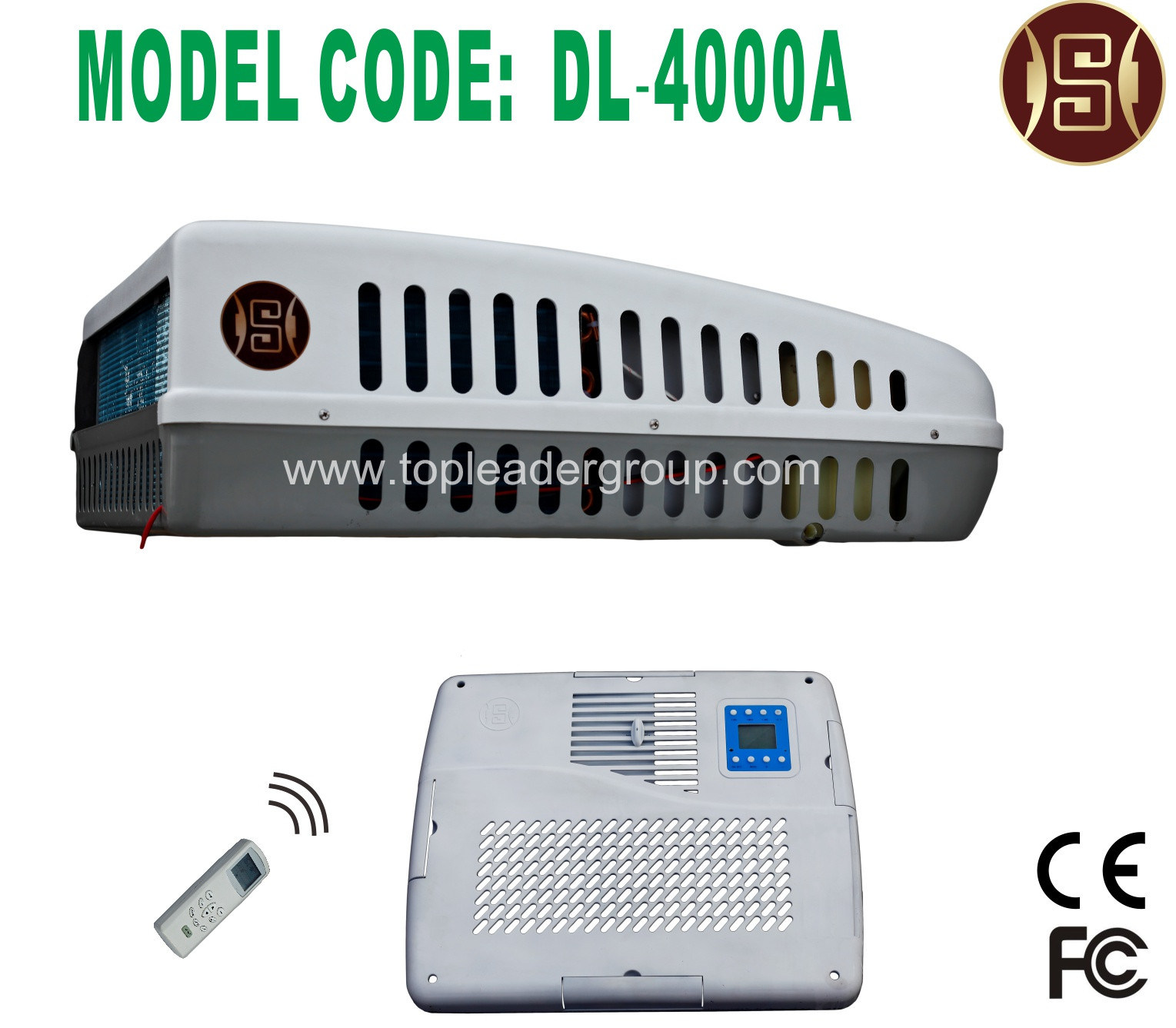 RV Air Conditioner (220VAC) (DL-4000AR2)