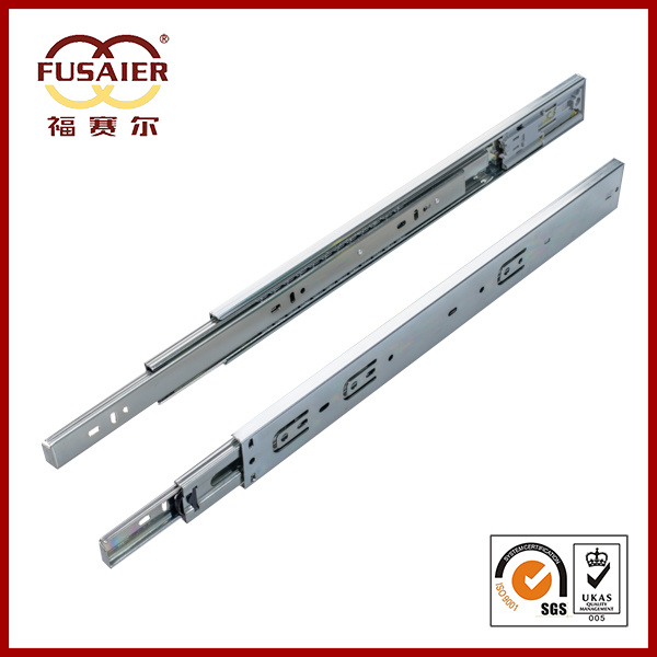45mm Push to Open Ball Bearing Drawer Runners pictures & photos