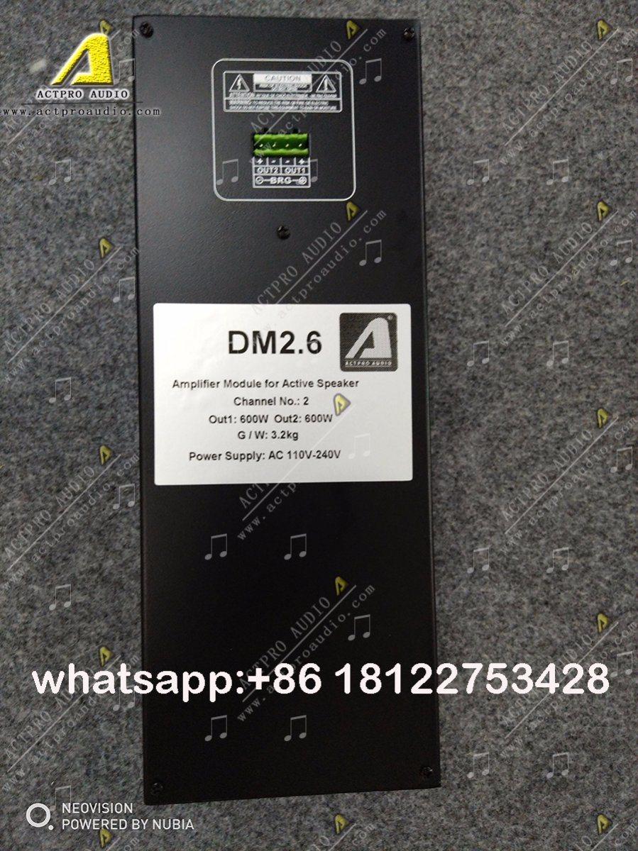 China Actpro Audio Active Line Array Speaker Power Amplifier Circuit Board