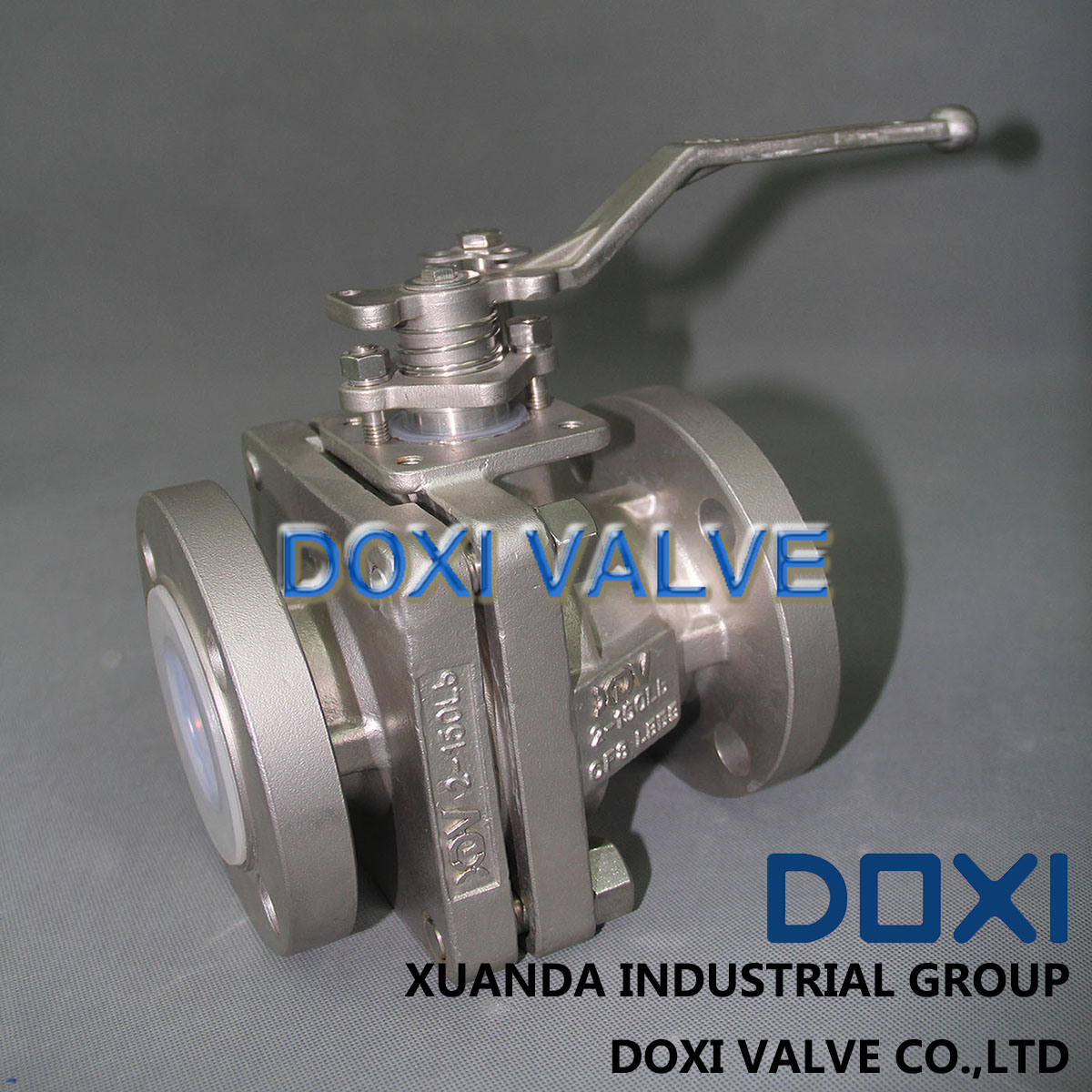 "2"" Semi Conductive 2PC Floating Ball Valve pictures & photos"