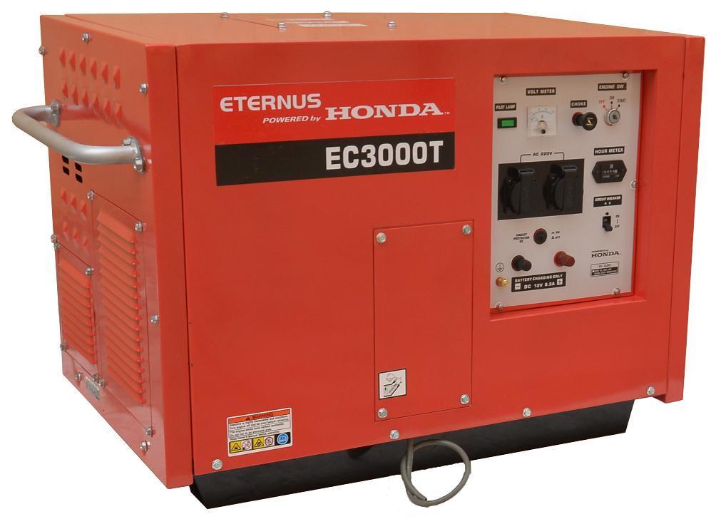 China Honda Power 3kw 3kVA Industry Generator Ec3000t - China ...