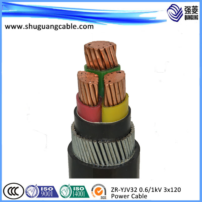 China Yjv32 3 Cores XLPE Insulated PVC Sheathed Thin Steel Wire ...