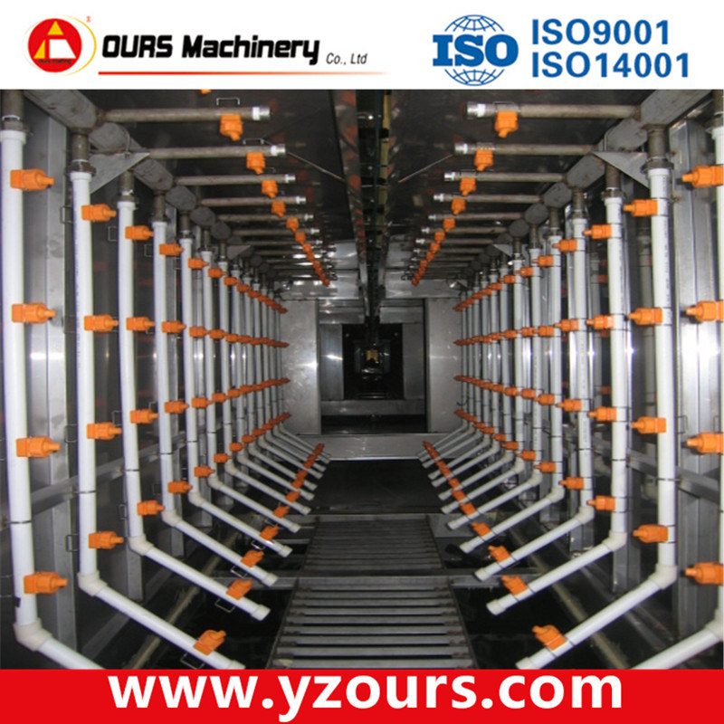 Automatic Powder Coating Line for Metal Products pictures & photos