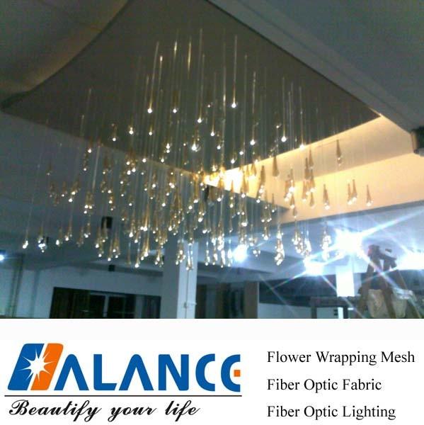 China Fiber Optic Chandelier Of Hotel Room Lighting