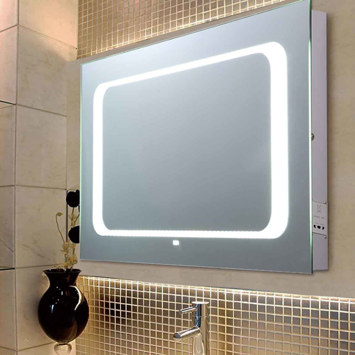 China LED Lighted Bathroom Mirror with Motion Sensor ...
