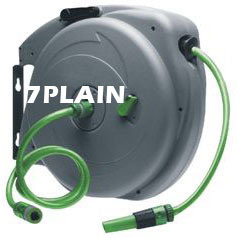China Retractable Garden Hose Reel W53ss China Spring Driven