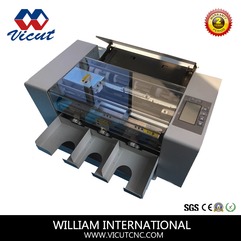 China A4 Automatic Electric Name Card Cutter Photos & Pictures ...