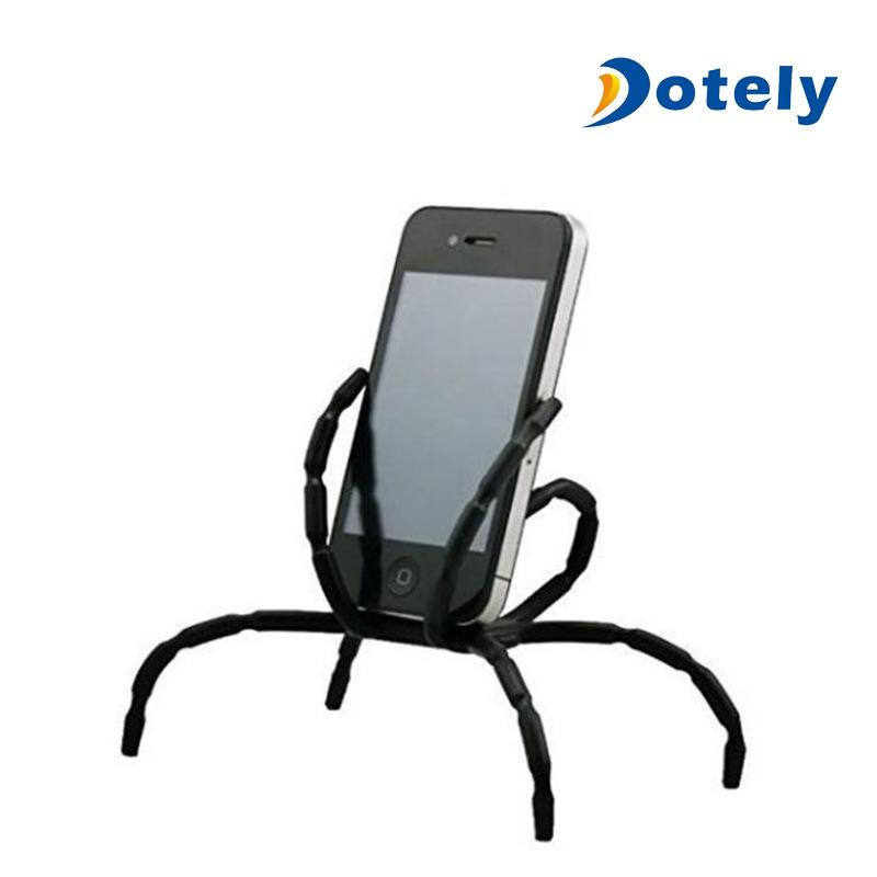 Funny Bendable Desk Bike Car Spider Cell Phone Holder Stents For Smartphone