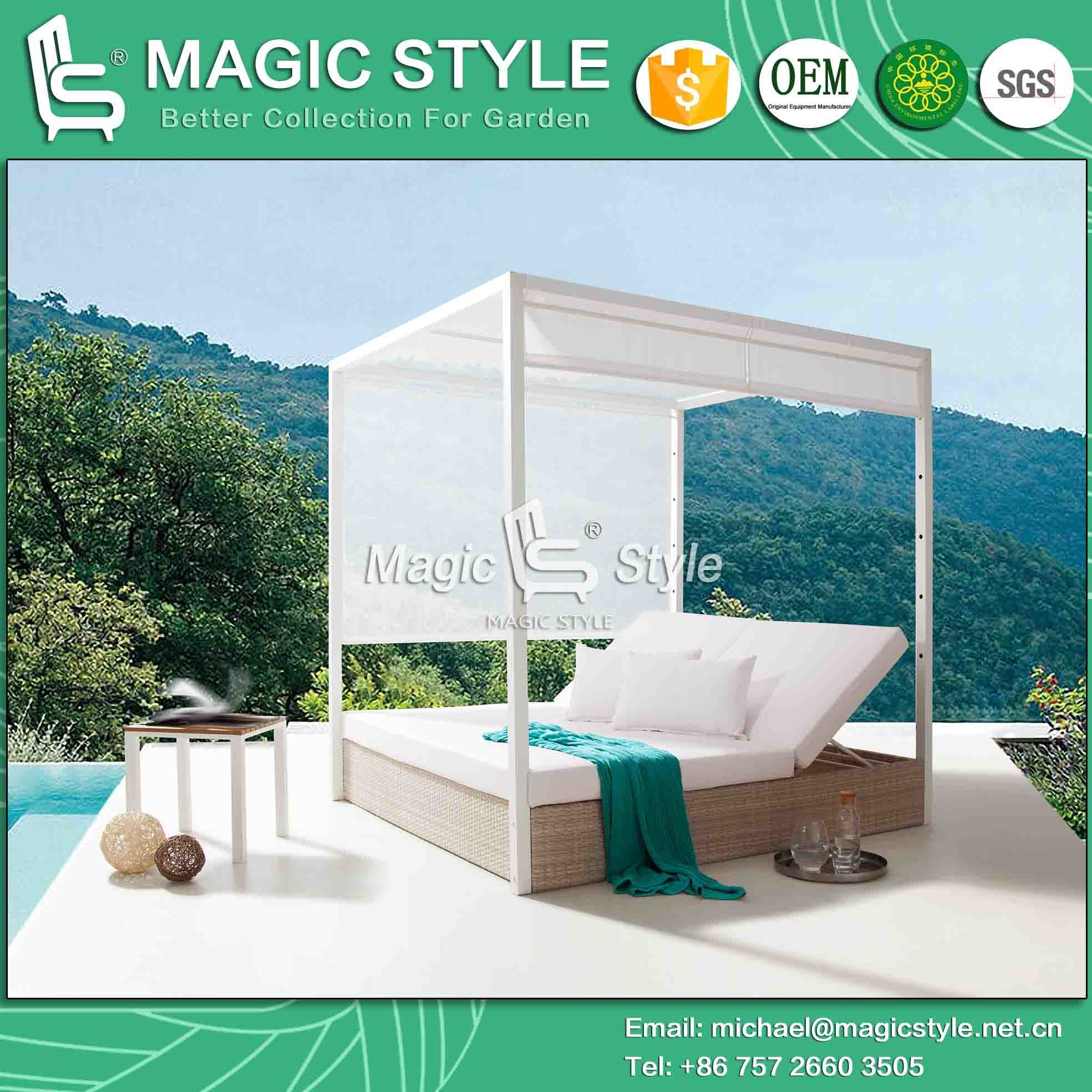 daybed new furniture lovable table lounge day of patio mattress bed wicker outdoor sofa