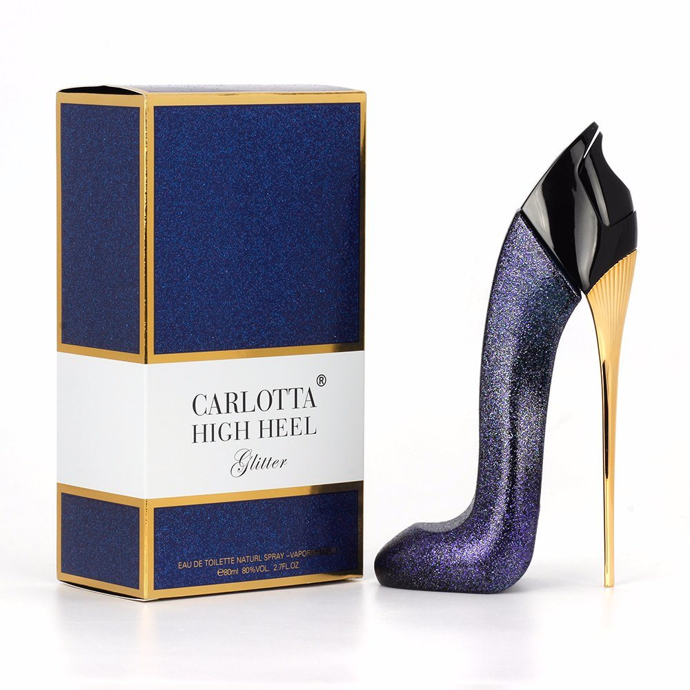 China 80ml Good Girl High Heel Empty Bottle Avaiable For Customize