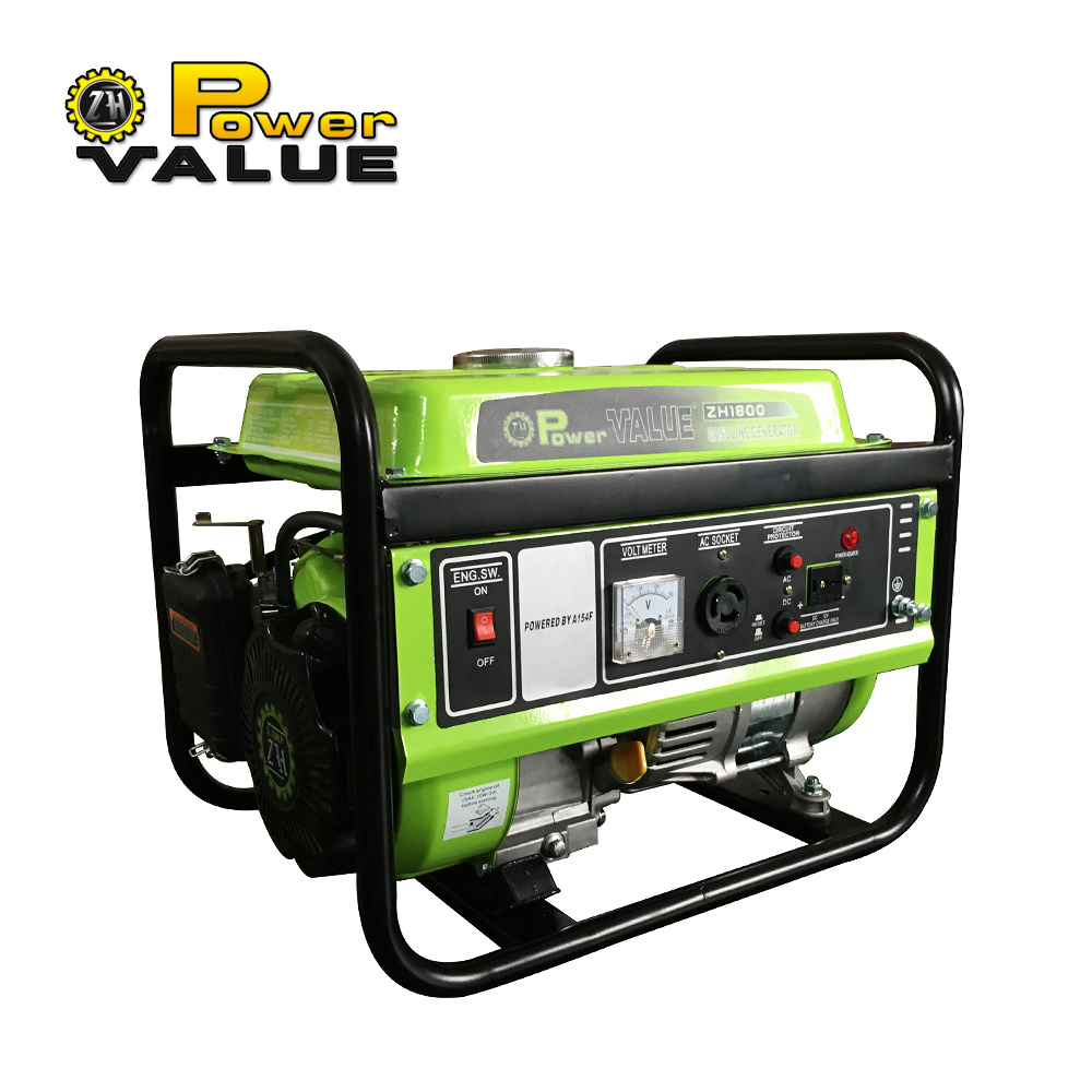 China Gasoline Generator Aluminum Wire 230v 1000w Portable Voltmeter Ac Wiring Circuits 1kw Petrol
