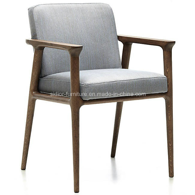 Hot Item Modern Restaurant Furniture Wooden Dining Room Chair With Arm