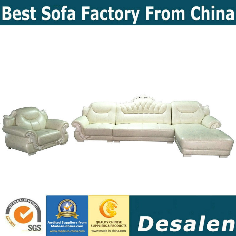 Best Quality Hotel Lobby Furniture Leather Sofa (A842 1)