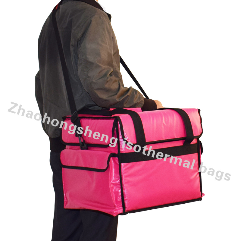 Heated 12 V Insulated Thermal Takeaway Food Delivery Lunch Bag