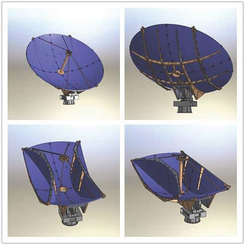 [Hot Item] 4 5m Foldable Carbon Fiber Vehicle-Mounted Dish Antenna