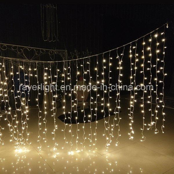 Curtain Lights Led Christmas Decor