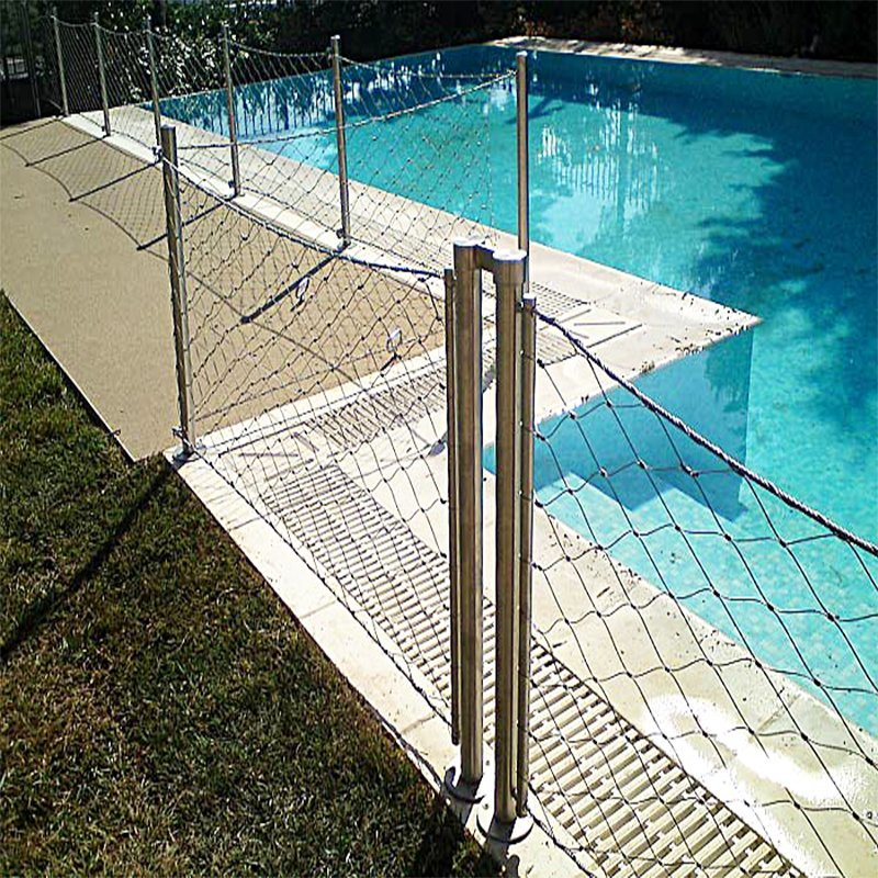China Stainless Steel Wire Mesh Cable Railing Mesh for Balcony ...