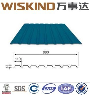 China Overlapping/Corrugated/Hidden Screw Roofing System