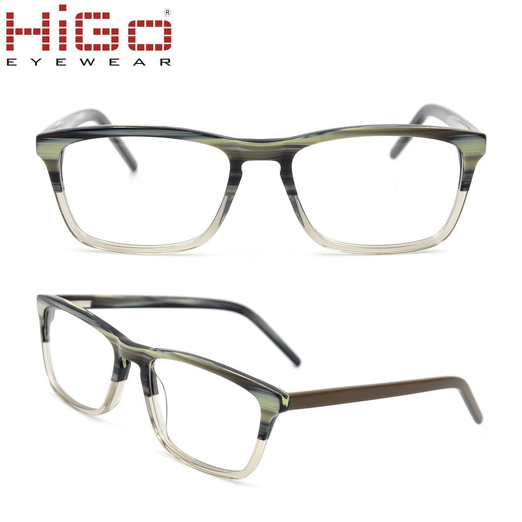 1ce6ea17510 China Acetate Material Eyeglasses Frames 2018 Fashion Retro Eyewear ...