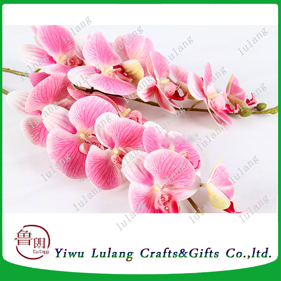 China Best Sale Wedding Favors Silk Butterfly Orchids Flowers for ...