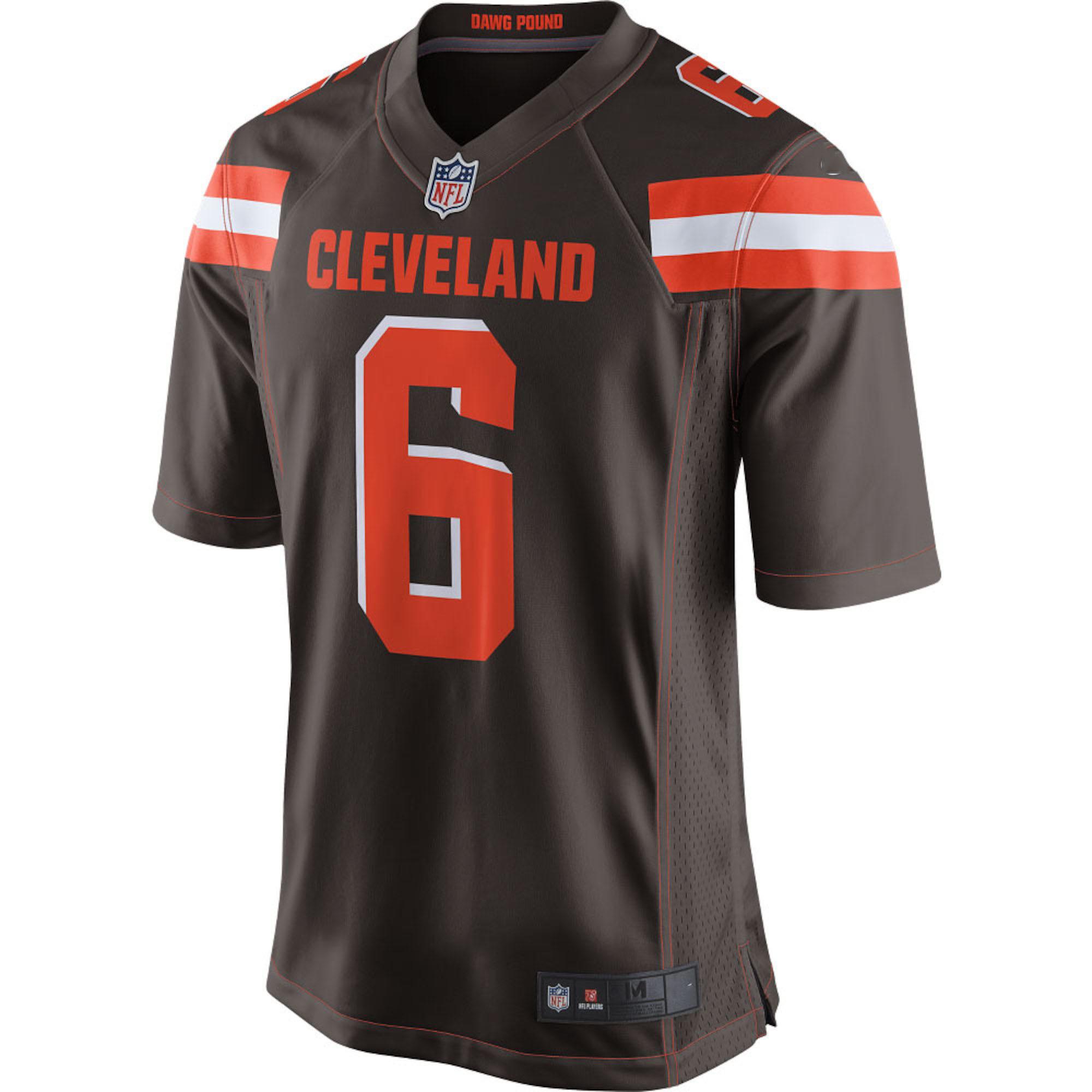 finest selection 79217 e8b41 China Jets Sam Darnold #14 Browns Baker Mayfield #6 National ...