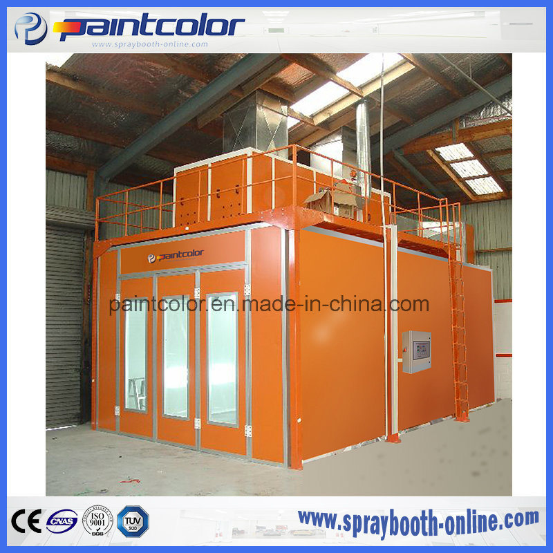 Hot Item Industrial Custom Spray Booth For Australia And New Zealand Paint Booth For Furniture Wood Paint Oven From Paintcolor Brand