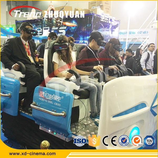 Unforgetable Experience Six Seats Virtual Reality 9d Vr Cinema