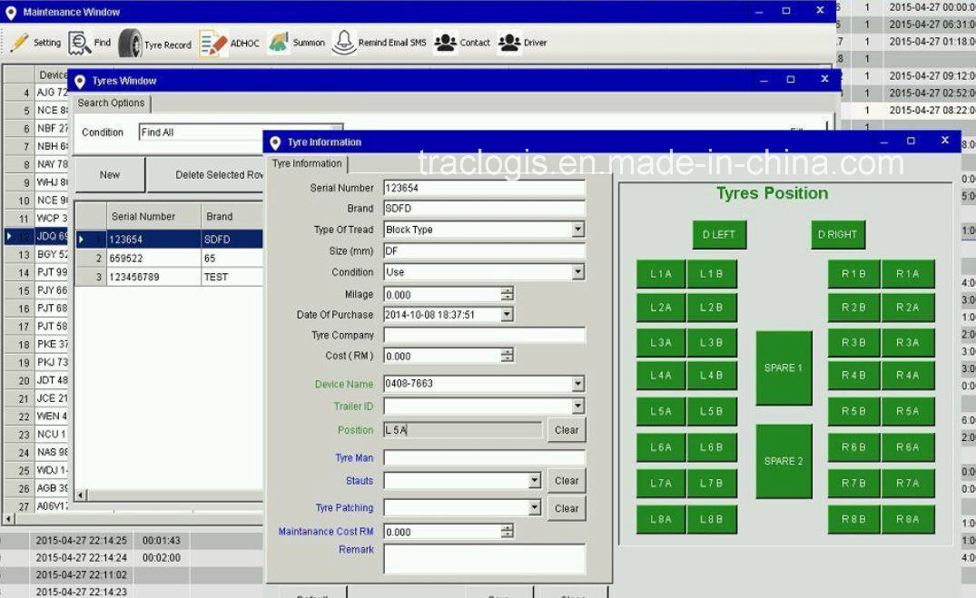 GPS Tracking Software for Fleet Management