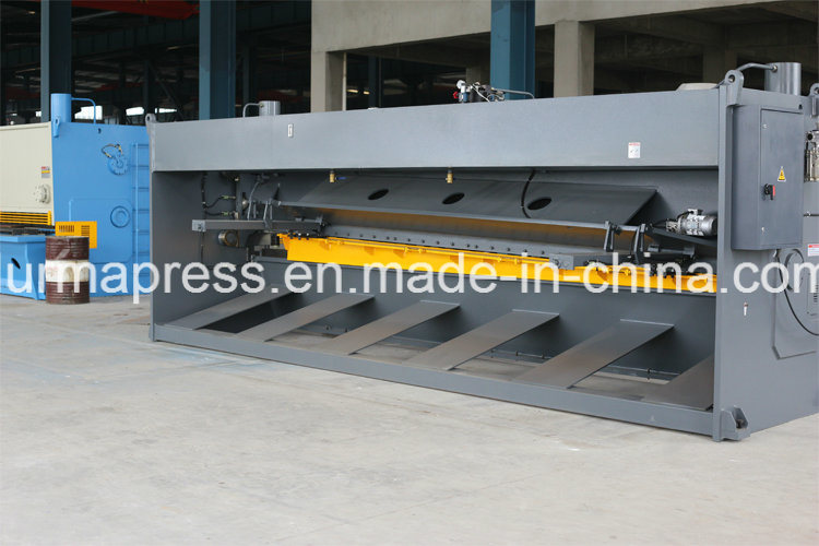 QC11y Big Size Shearing Machining 6m Guillotine Type Shearing Machine for Metal Cutting