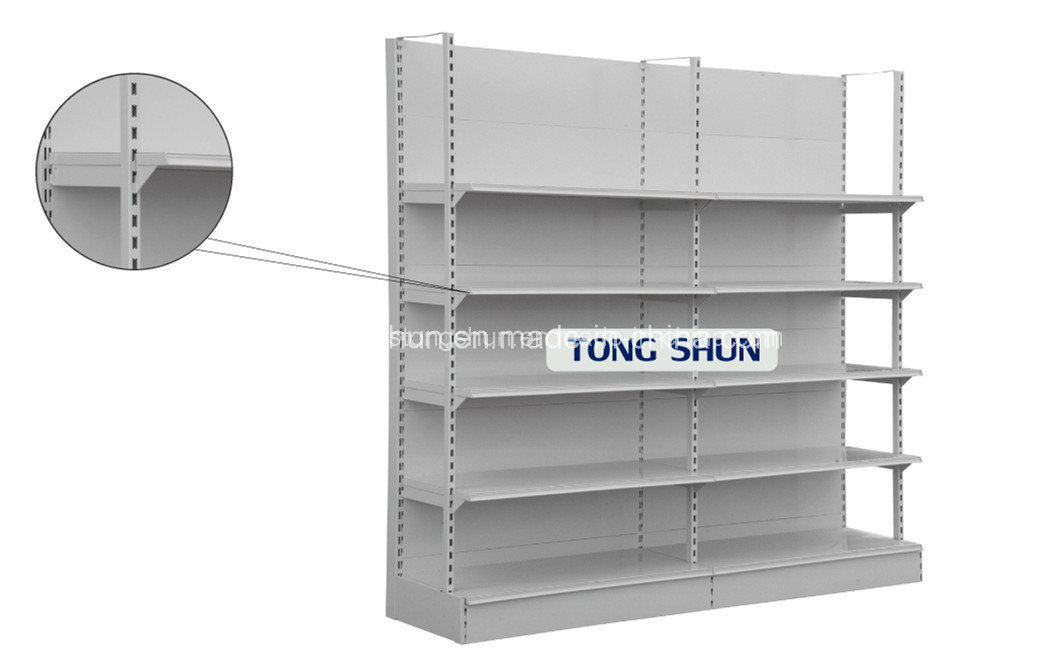 H Type Heavy Duty American Style Supermarket Shelf/Storage Rack
