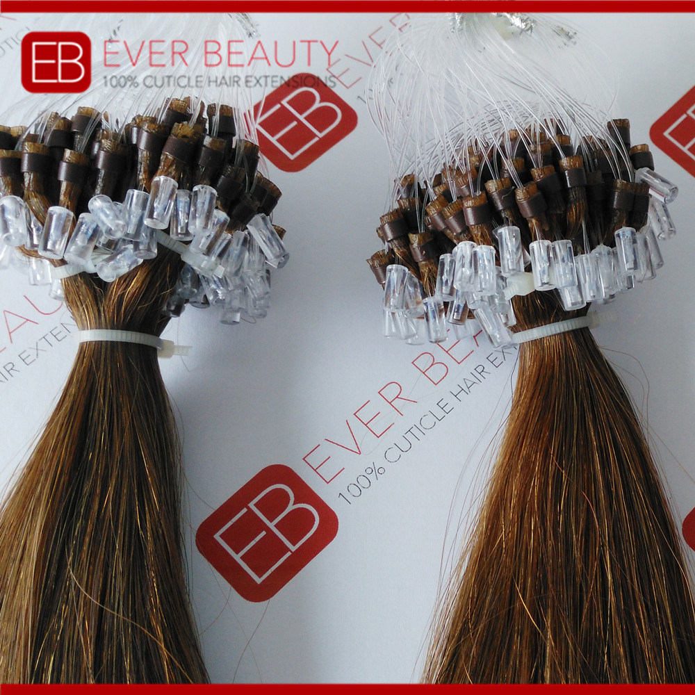 China 9a Brazilian Remy Human Hair Micro Link Hair Extensions