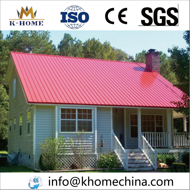 China Color Steel Sandwich Panel Prefab House Prefabricated Homes ...