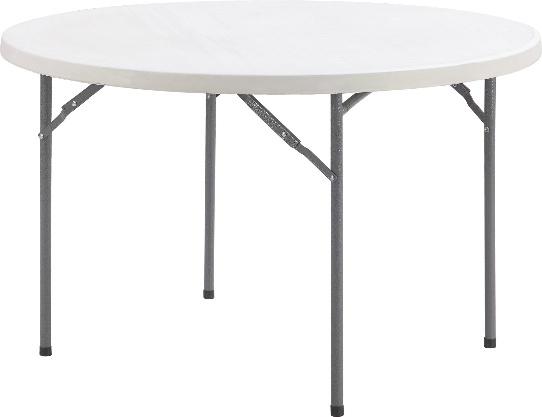 - China 1.22m Plastic Folding Round Small Table Suit For 4 Chairs