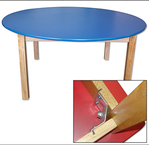 Wooden Round Table For Kids The Certificate Of The En 1729 1 And En 1729 2