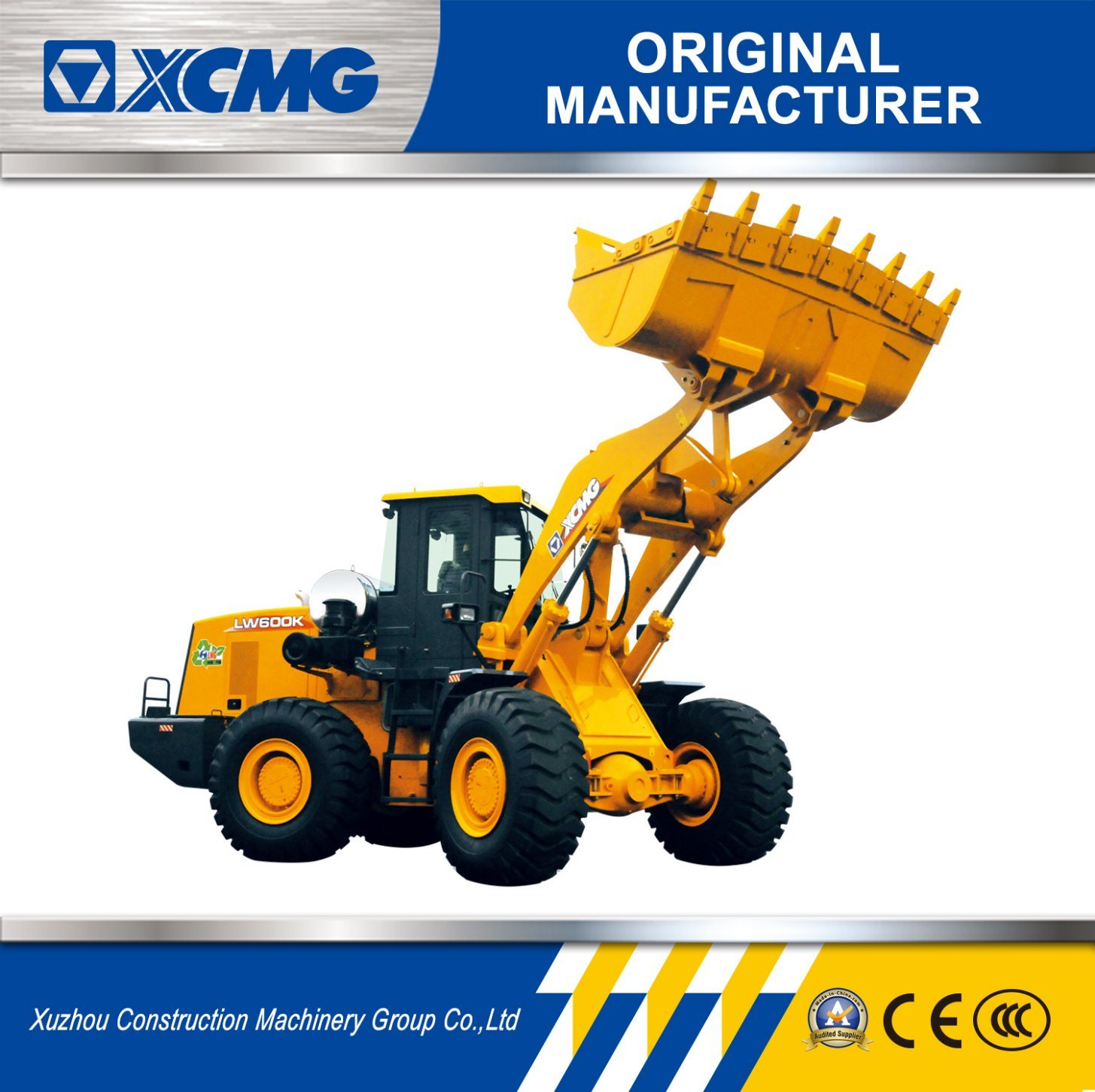 China XCMG Equipment of Lw600K 6ton Mini Road Roller for Sale - China Wheel  Loader, Truck Loader