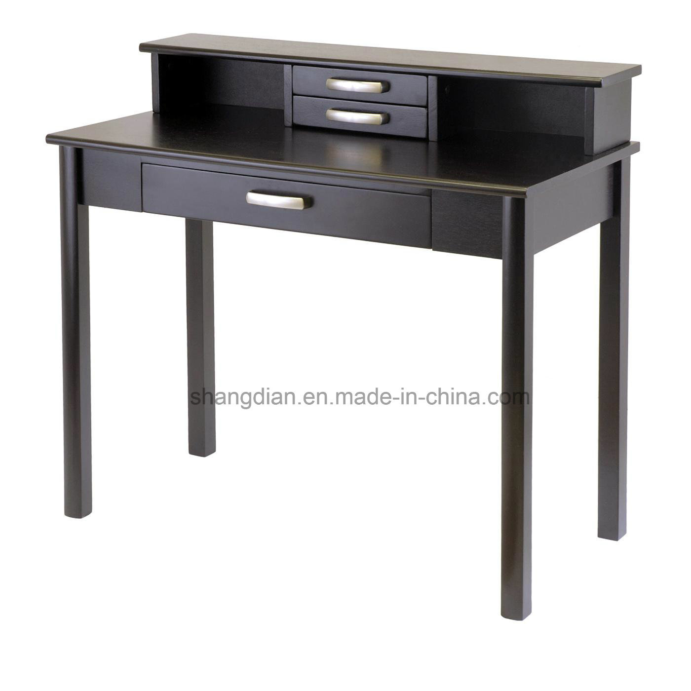 China Top Quality Solid Wood Legs Used Writing Desk For St0054 Hotel Room Wooden