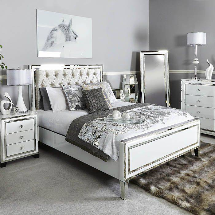 [Hot Item] Fashion Double Bed Design Modern Bedroom Furniture