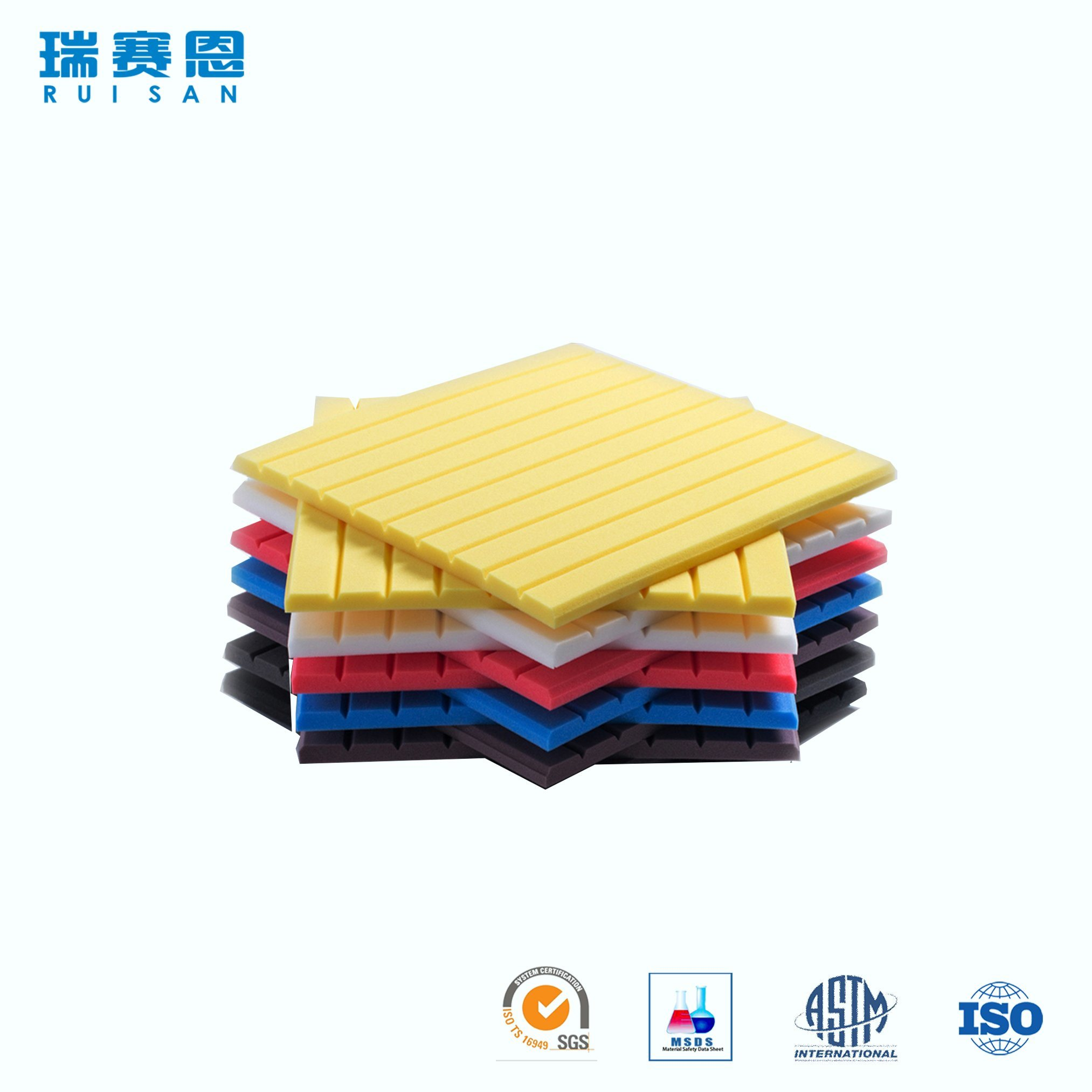 China Selling! Wall Decoration Sheet Polyester Acoustic Panel ...