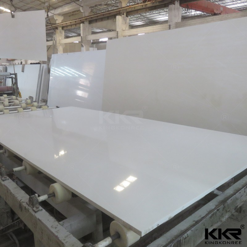 China White Quartz Wall Cladding Stone Starlight Quartz Tiles