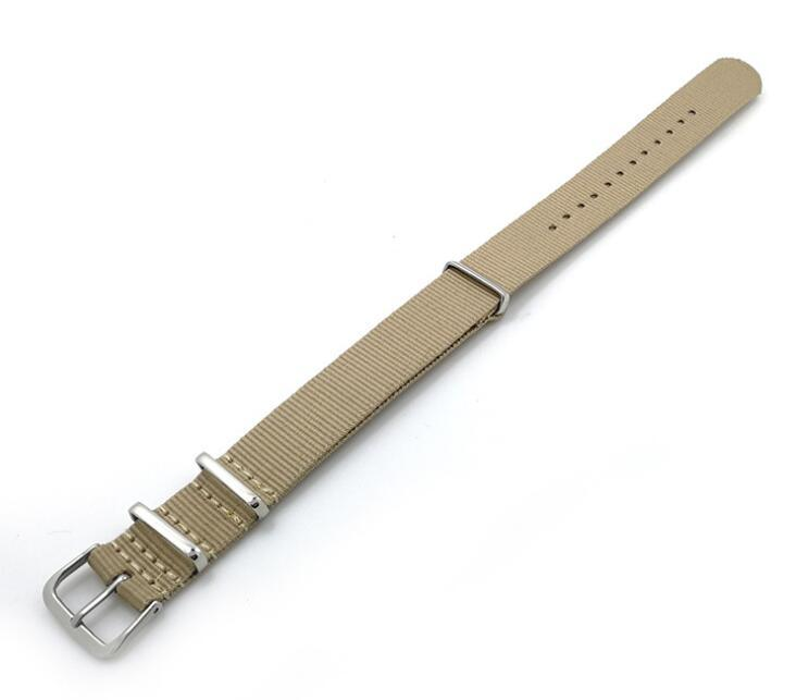Heavy Duty Nylon Nato Watchband Strap 18mm 20mm 22mm 24mm Watch Band Zulu Straps Stainless Steel Pin Buckle Canvas Army pictures & photos