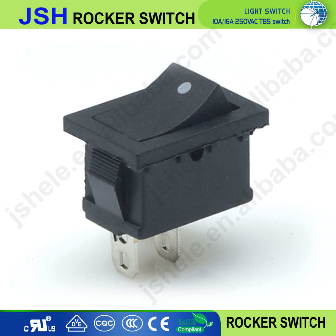 China Toggle Switch 2 Positions Kcd1 101 On Off Rocker 12v 250v