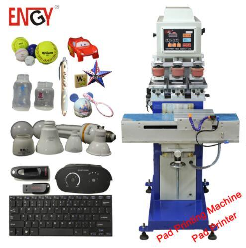 Engyprint Sell Cheap 3 Color Pad Printing Machine