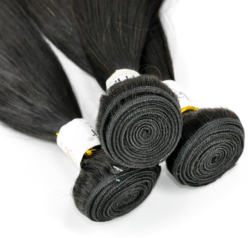 China 100 Straight Chinese Unprocessed Virgin Human Hair Extensions