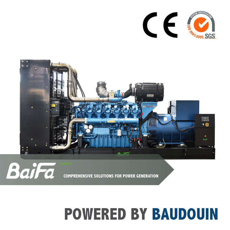 560-1200kw Electric Power Diesel Generator Powered by Baudouin Engine EPA Tier 2/3 with Stamford Alternator OEM Factory